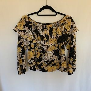 Wilfred Off the Shoulder Long Sleeve Blouse
